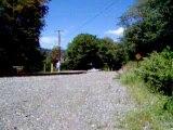 WMSR 734 crosses Trimble Road.