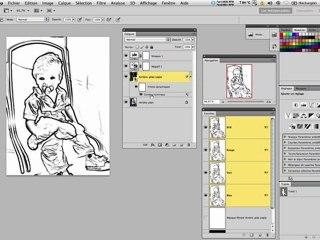 tutoriel photo en dessin trait