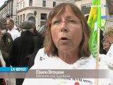 Anti-nucléaires : manifestation symbolique à Clermont