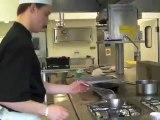 Dans les cuisines du lycée hôtelier de Bazeilles