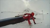 Paradiski  La Plagne Freestyle freeride et crash ski