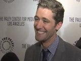 Matthew Morrison at PaleyFest - On The Red Carpet interview