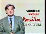 Bande Annonce De L'emission Bouillon De Culture Septembre 1995 France 2