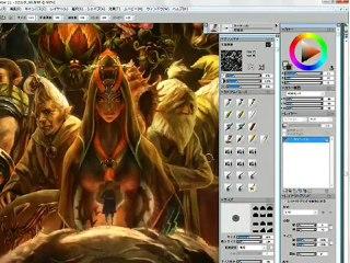 Zelda 25éme Anniversaire - Artwork - Making of