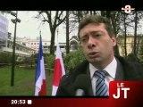 Une minute de silence pour le Japon (Aix-les-Bains)