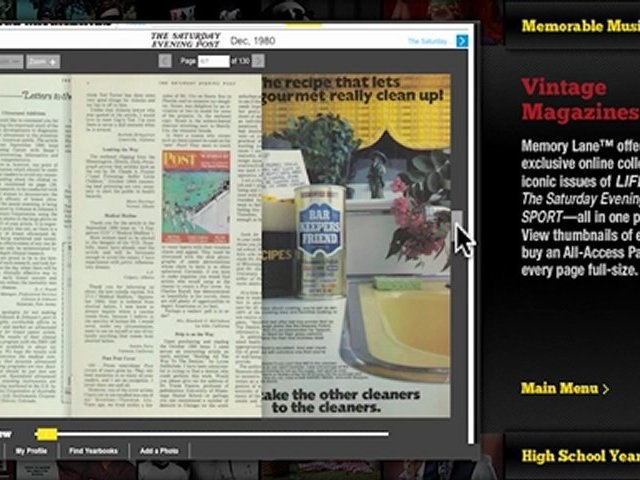 Look at Vintage Magazines on Memory Lane | Godialy.com