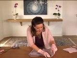 Faça uma almofada de feltro sem costura.