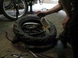 bib pneu retourner changer