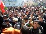 ALGERIE: MARCHE DE LA CNCD A TIZI OUZOU LE 19 MARS 2011