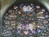 Pentacle a la cath�drale d' Amiens