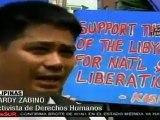 Filipinas rechaza medidas impuestas contra Libia