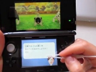Le XStylus 3DS sur Nintendogs+cats de