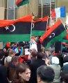AFD présente au rassemblement de soutien au peuple Libyen - Trocadero 19 Mars 2011