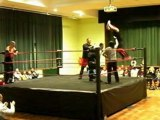 PTW World Tag Team Title Match : P.T. Player & Tommy Stevens (c) vs Arashi & Steven Devine, with shock ending to the match!