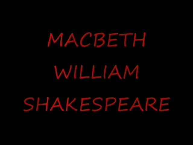 Macbeth de William Shakespeare Compagnie theatreETcinema. com
