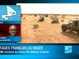 Niger : AQMI réclame 90 millions d'euros pour la libération des otages