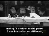 le Rabbi de Loubavitch;juif, dites aux nations la veritée!!
