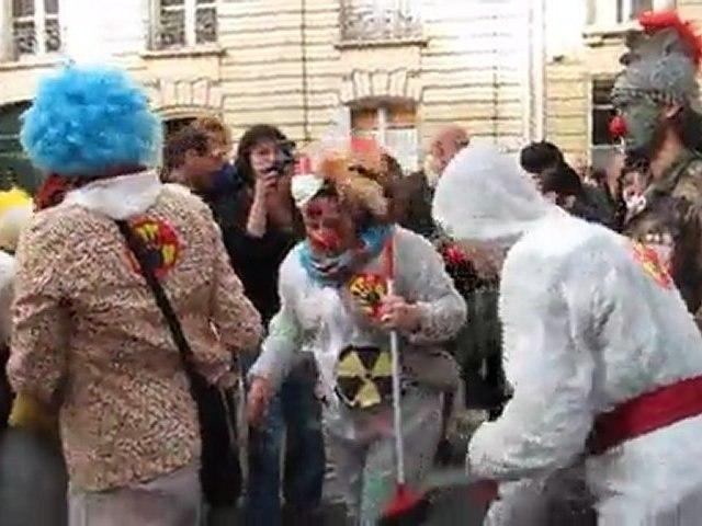 Anti-Nucleaire Manifestation,  Clowns