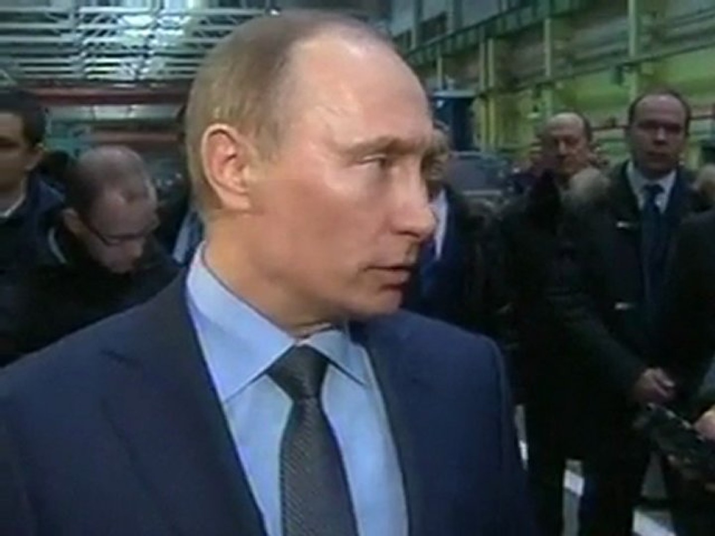 Putin likens Libya air strikes to 'crusades'