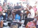 Groupe de musiciens à Papeete