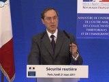 Claude Guéant rencontre les associations nationales pour la sécurité routière