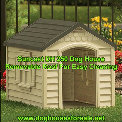 Suncast DH250 Dog House: Simple Assembly…
