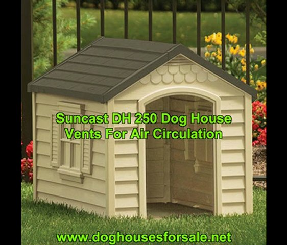 Suncast DH250: For Dogs Up To 70 Lbs..