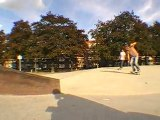 Skate In Liège - à Maas en faite... Arnaud qui bs crook le ledge