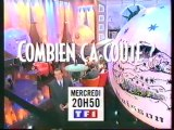 Bande Annonce De L'emission Combien ça Coute Février 1998 TF1