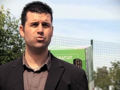 Ludovic Crabié, technico-commercial itinérant