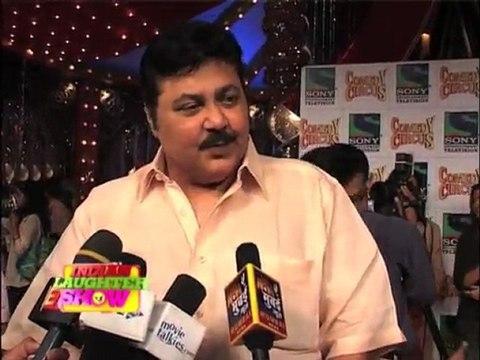 Shakeel & Satish Shah In Comedy Circus