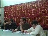 Table Rase - Meeting de solidarité avec les peuples et les travailleurs en lutte en Egypte, en Tunisie et ailleurs - Intervention Tunisie