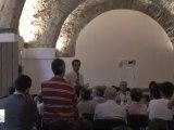 5-8-2009 discorso del presidente di Connecting People, Caulonia (RC)