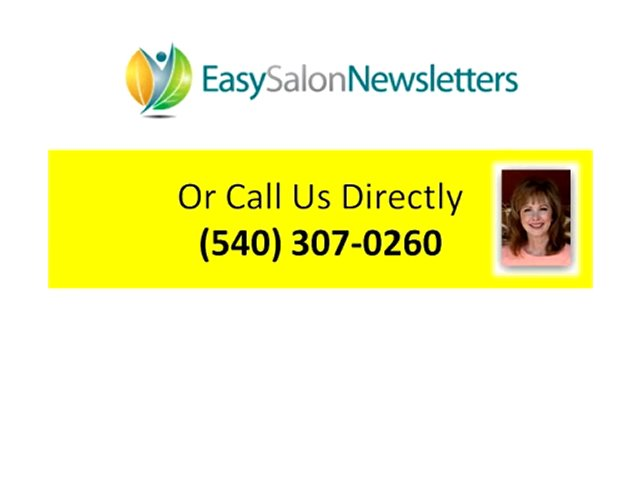 Spa and Salon Marketing Newsletter Marketing Print Marketing