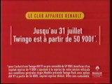 Publicité Renault Twingo 1997