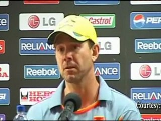 """""""We play our BEST GAME"""" Ricky Ponting at Cricket World Cup 2011"""