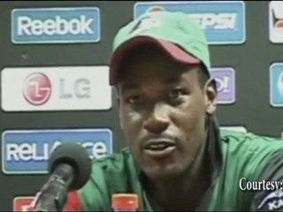 UNBEATEN 98 scorer Collins Obuya vs Australia at ICC Cricket World Cup