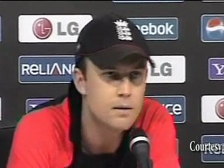 """""""England is THE BEST ONE DAY CRICKET TEAM for World Cup 2011"""" Jonathan Trott"""
