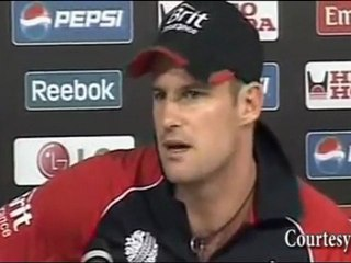 """""""England's DRAMATIC WIN vs West Indies at ICC Cricket World Cup 2011"""" Andrew Strauss"""