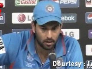 Yuvraj Singh After Scoring a Ton !!