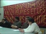 Table Rase - Meeting de solidarité avec les peuples et les travailleurs en lutte en Egypte, en Tunisie et ailleurs - Intervention Algérie