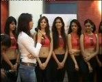Isha Koppikar drills the Miss India Contestants