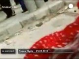 Syria: bloody scenes in Deraa - no comment