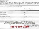 Grapevine Chrysler Jeep Dodge No Complaints