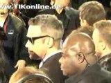 Robbie Williams Echo Awards Red Carpet