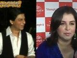 Shahrukh Snubs Farah Badly