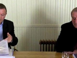 Débat entre Léon Gendre et Patrice Raffarin - La protection de l'environnement