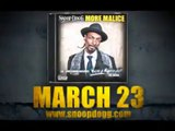 """Doggy Style Records Presents Snoop Dogg """"More Malice"""" Deluxe-Edition CD & DVD"""