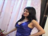Hot  party Girl's Cleavage Show