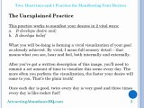 Two  Doctrines and 1 Practice for Manifesting YourDesires